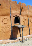 maison africaine Photo stock