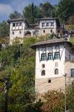 Maison albanaise traditionnelle Photos stock