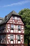 Maison allemande image stock