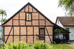 Maison allemande d'enxaimel Image stock