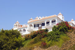 Maison andalouse Photo libre de droits