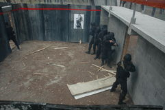 Maison anti-terroriste 006 d'unité image libre de droits
