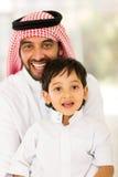 Maison Arabe de fils de père Image libre de droits