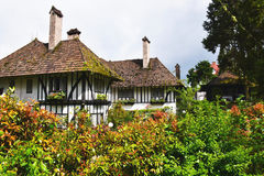 maison, architecture, bâtiment, cottage, jardin, maison images libres de droits