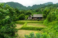 Maison asiatique de ferme Photo libre de droits