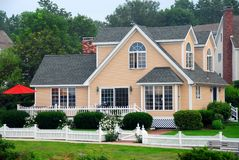 Maison au Maine Photo libre de droits