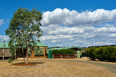 Maison australienne typique de campagne Photographie stock