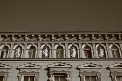 Maison baroque. Photos stock