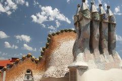 Maison Batllo, Barcelone Images libres de droits