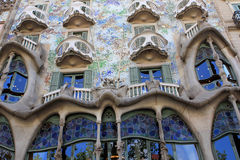 Maison Batllo, Barcelone Image libre de droits