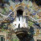 Maison Batllo - Barcelone Images libres de droits