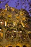 Maison Batllo, Barcelone, Espagne photographie stock libre de droits