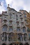 Maison Battlo à Barcelone Images libres de droits