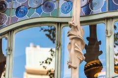 Maison Battlo de Chambre à Barcelone, Espagne Images stock