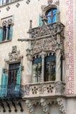 Maison Battlo de Chambre à Barcelone, Espagne Photographie stock libre de droits