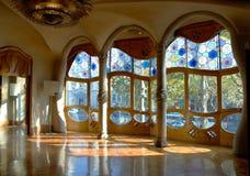 Maison Battlo, intérieur Images libres de droits
