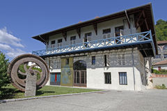 Maison Berges, museo di Houille Blanche Fotografia Stock