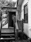 Maison bienvenue Photographie stock libre de droits