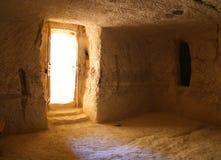 Maison bizantine reconstruite Images stock