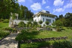 Maison blanche door Le Corbusier, La Chaux-de-Fonds Royalty-vrije Stock Foto's