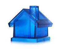 Maison bleue Photographie stock libre de droits