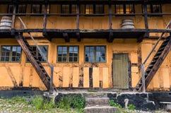Maison boisée danoise Photos stock