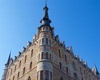 Maison Botines conçu par Antoni Gaudi à Léon, Espagne photographie stock libre de droits