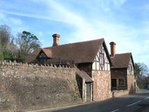 Maison britannique traditionnelle Images libres de droits