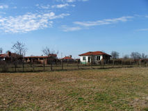 Maison bulgare Image libre de droits
