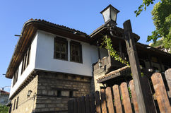 Maison bulgare de renaissance Photographie stock