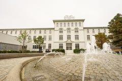Maison Cailler -巧克力工厂 库存图片