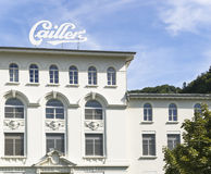 Maison Cailler - Chocolate Factory Stock Image
