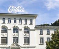 Maison Cailler - chokladfabrik fotografering för bildbyråer