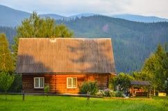 Maison carpathienne Photo libre de droits