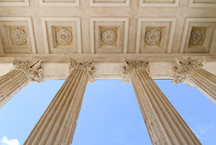 Maison Carrée of Nimes Royalty Free Stock Images