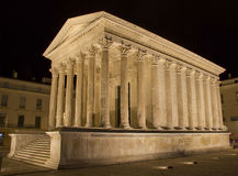 Maison Carree in Nimes Royalty Free Stock Images