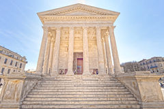 Maison Carree, Nimes, France Royalty Free Stock Images