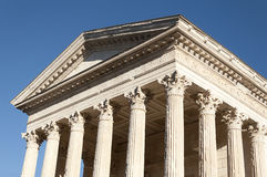 The Maison Carree, Nimes, France Royalty Free Stock Photography
