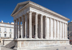Maison Carree Nimes France Stock Image