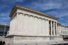 Maison Carree Nimes France Royalty Free Stock Image