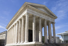 Maison Carree Nimes France Royalty Free Stock Photos