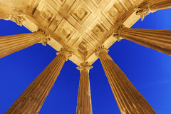 Maison Carree in  Nimes Royalty Free Stock Image