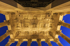 Maison Carree in Nimes Stock Image