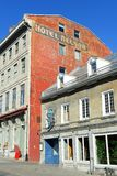 Maison Cartier, Quebec, Canada Fotografie Stock Libere da Diritti
