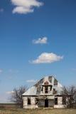 Maison cassée Photos libres de droits