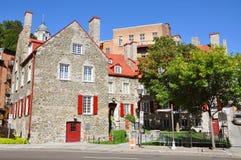 Maison Chevalier, Quebec City, Canada. Maison Chevalier, a part of Musee de la Civilisation in Quebec City, Canada. It was built for an 18th-century merchant Stock Image