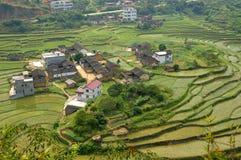 maison chinoise de fermiers Photos stock