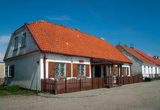 Maison civile d'enregistrement dans Tykocin, Pologne images libres de droits
