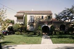 Maison classique sur la péninsule de la Californie au sud de San Francis photos libres de droits