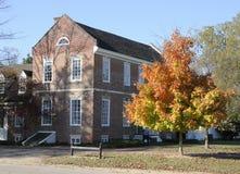 Maison coloniale américaine Images libres de droits